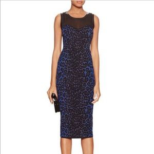 RACHEL Rachel Roy Graphic Intarsia Sheath Dress
